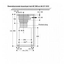 AC200181 GAGGENAU Inbouwunit afzuigkap