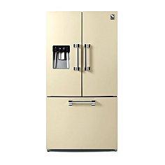 AFR9FCR STEEL Side By Side koelkast