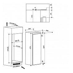 ARG18470A+ WHIRLPOOL Inbouw koelkasten vanaf 178 cm