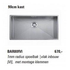 BAR80VI ABK Spoelbak