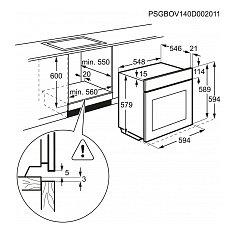 BCK742220M AEG Inbouw oven