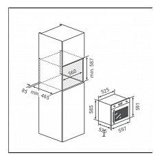 BPMDN60ANL BORETTI Inbouw oven