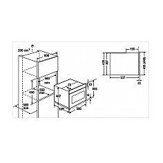 CB63500S1 KUPPERSBUSCH Compacte oven (45 cm hoog)