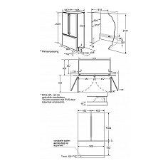 CI36BP01 SIEMENS Side By Side koelkast