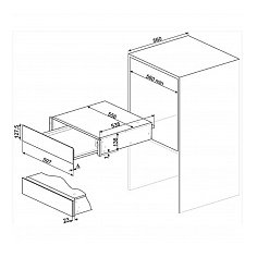 CPR915N SMEG Serviesverwarmer