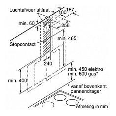 DWK97HM60 BOSCH Schuine afzuigkap