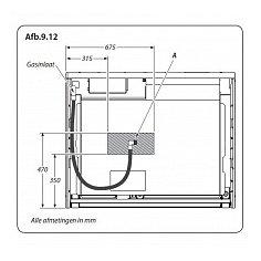 ELANDLX110DFRP FALCON Fornuis 110 cm