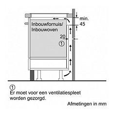 EX675FEC1E SIEMENS Inductie kookplaat