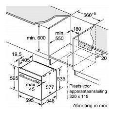 HB636GBS1 SIEMENS Inbouw oven