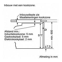 HB836GTB6 SIEMENS Inbouw oven