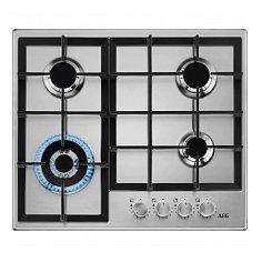HGB64420SM AEG Gas op glas kookplaat
