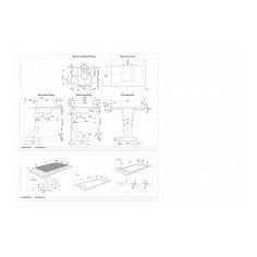HIDD8471LV ATAG Kookplaat met afzuiging