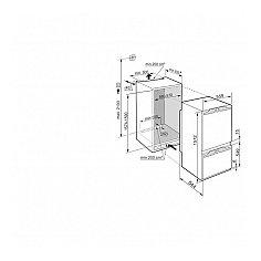 ICP292420 LIEBHERR Inbouw koelkasten rond 158 cm