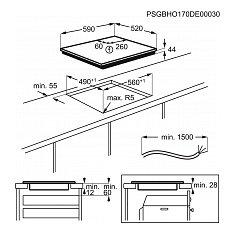 IKB64301FB AEG Inductie kookplaat