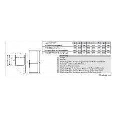 KGE36VL4A BOSCH Vrijstaande koelkast