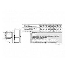 KGV39VI31 BOSCH Vrijstaande koelkast