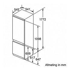 KI5872F30 NEFF Inbouw koelkasten vanaf 178 cm