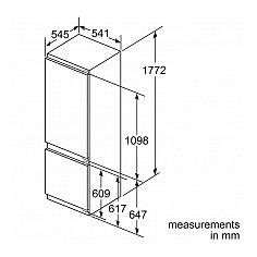 KIV87VF30 BOSCH Inbouw koelkast vanaf 178 cm