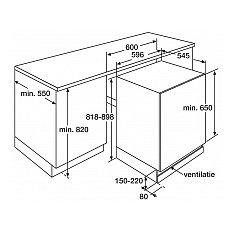 KKO182 ETNA Onderbouw koelkast