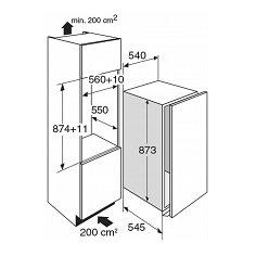 KS32088A ATAG Inbouw koelkast t/m 88 cm
