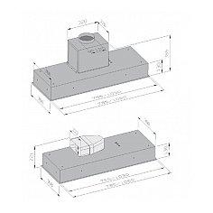 LBG12140811 AIRO Inbouwunit (externe motor)