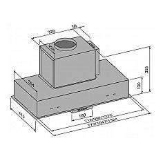LBG90811 AIRO Inbouwunit (externe motor)