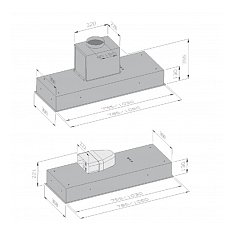 LBG9140811 AIRO Inbouwunit (externe motor)