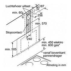 LC97FQQ60 SIEMENS Schuine afzuigkap
