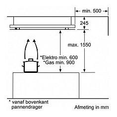 LF26RH560 SIEMENS Plafond afzuigkap