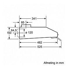 LU63LCC50 SIEMENS Onderbouw afzuigkap