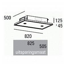 PA07082RZL ABK Plafond afzuigkap