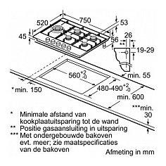 PCS7A5M90N BOSCH Gaskookplaat