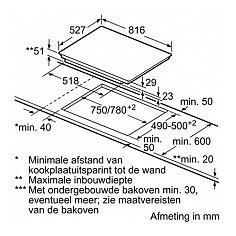 PIP875N17V BOSCH Inductie kookplaat