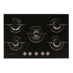 PR752WIBK INDESIT Gas op glas kookplaat