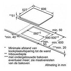 PXY695DX6E BOSCH Inductie kookplaat
