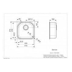 R15605 REGINOX Spoelbak