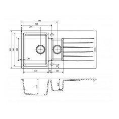 R31292 REGINOX Spoelbak