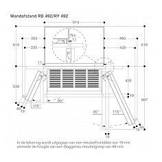 RB492304 GAGGENAU Inbouw koelkasten vanaf 178 cm