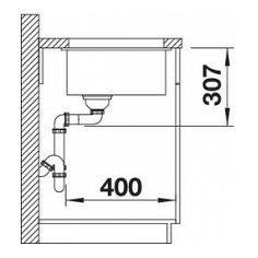 SBO523432 BLANCO Spoelbak