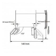 SBS1354XA+ EXQUISIT Side By Side koelkast