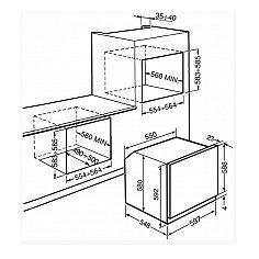 SF6101VB SMEG Solo oven