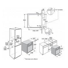 ZX6674M ATAG Inbouw oven