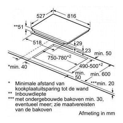 Maatschets PVW895FC5E