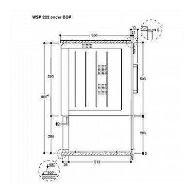 Maatschets WSP222100
