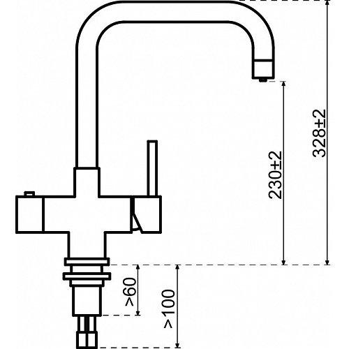 350217 SELSIUZ Kokend water kraan