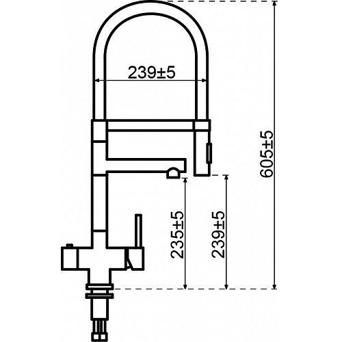 350232 SELSIUZ Kokend water kraan