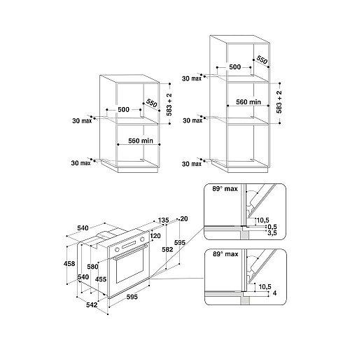 AKP469IX WHIRLPOOL Inbouw oven