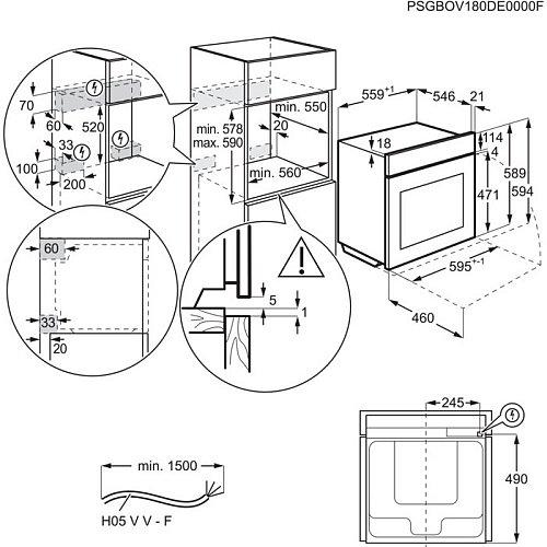 BEK101010M AEG Inbouw oven