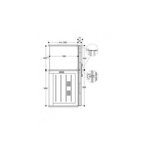 BM451110 GAGGENAU Combimagnetron