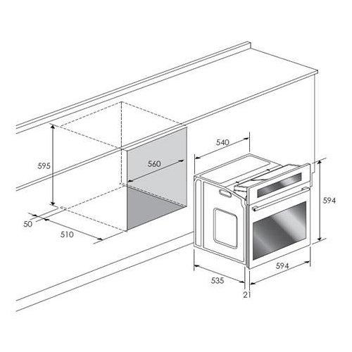 BPZN60IX BORETTI Inbouw oven